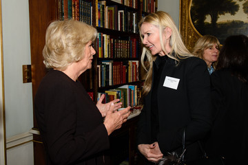 Amanda Wakeley The Duchess of Cornwall Hosts Reception For WOW