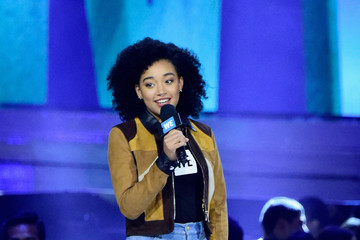 Amandla Stenberg WE Day California - Inside