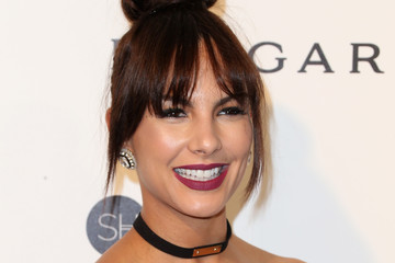 Amanza Smith Celebrities Attend an Oscar Viewing Party