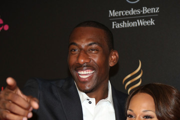 Amare Stoudemire Alexis Welch 9th Annual Style Awards - Arrivals - Spring 2013 Mercedes-Benz Fashion Week