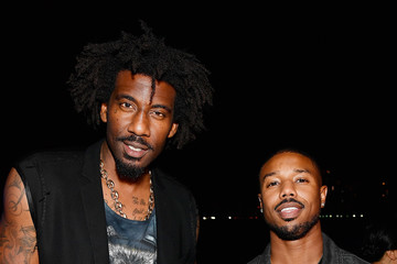 Amare Stoudemire Drake & Virgil Abloh Celebrate Miami Art Week At The American Express Platinum House At The Miami Beach EDITION