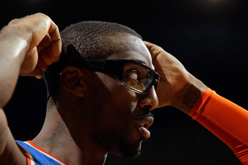 Amare Stoudemire New York Knicks v Sacramento Kings