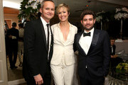 (L-R) Vice President of Amazon Studios Roy Price, actress Melora Hardin and Amazon Head of Half-Hour Series Joe Louis attend Amazon's Golden Globe Awards Celebration at The Beverly Hilton Hotel on January 10, 2016 in Beverly Hills, California.