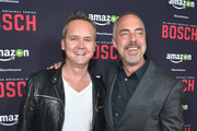 Head of Amazon Studios Roy Price and actor Titus Welliver attend Amazon Red Carpet Premiere Screening For Season Two Of Original Drama Series, 'Bosch' on March 3, 2016 in Los Angeles, California.