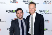 Head of Original Programming at Amazon Studios Joe Lewis (L) and Director of Amazon Studios Roy Price attend Amazon Studios Premiere Screening for 'Alpha House' on November 11, 2013 in New York City.