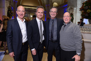 (L-R) Jeff Bezos, Roy Price, Garry Trudeau and Elliot Webb attend Amazon Studios Premiere Screening for 'Alpha House' on November 11, 2013 in New York City.