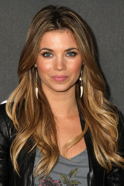 amber lancaster price is right. Amber Lancaster arrives at