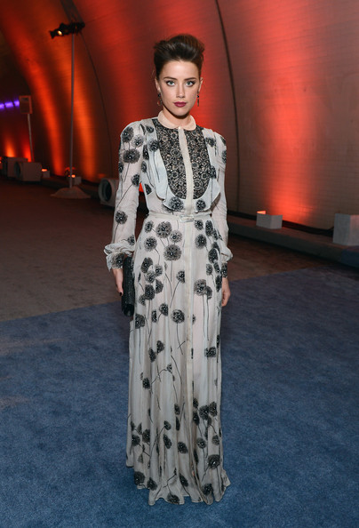 Amber Heard - Audi Presents The Art of Elysium's 6th Annual HEAVEN Gala - After Party