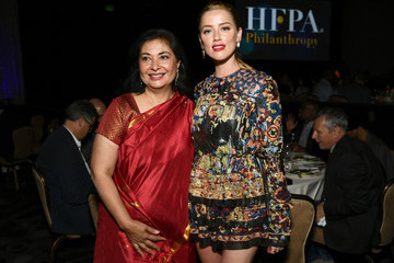 Amber Heard Hollywood Foreign Press Association's Grants Banquet - Inside