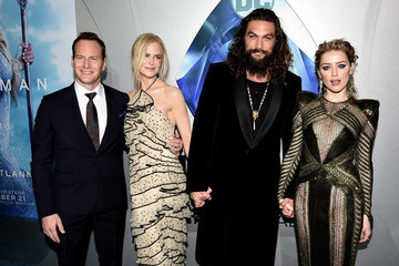 "Amber Heard Patrick Wilson Premiere Of Warner Bros. Pictures' ""Aquaman"" - Red Carpet"