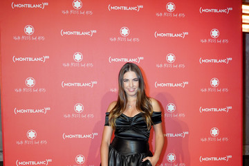 Amber Le Bon Montblanc: (Red) Launch Dinner And Party