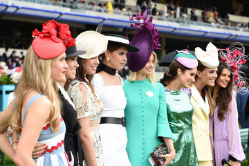 Amber Le Bon Sabrina Percy Royal Ascot 2019 - Day 2