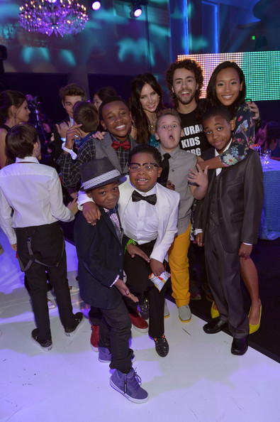 Backstage at the TeenNick HALO Awards
