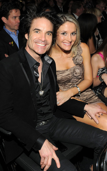 Amber Peterson Singer Patrick Monahan from the band Train and wife