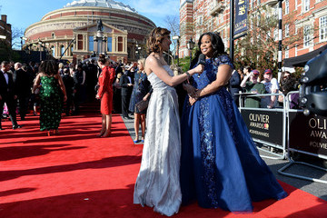 Amber Riley The Olivier Awards 2017 - VIP Arrivals