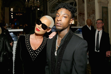 Amber Rose Harper's BAZAAR Celebrates 'ICONS By Carine Roitfeld' At The Plaza Hotel Presented By Infor, Laura Mercier, Stella Artois, FUJIFILM And SWAROVSKI - Sponsors