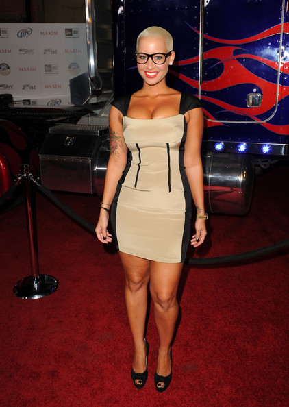 Amber Rose Model Amber Rose arrives at the 2011 Maxim Hot 100 Party with New Era, Miller Lite, 2(x)ist and Silver Jeans Co. held at Eden on May 11, 2011 in Hollywood, California.