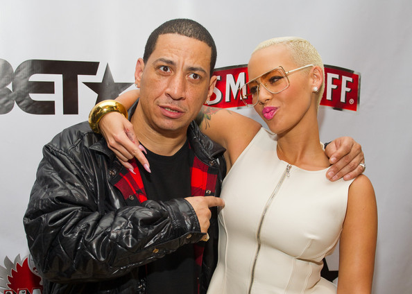 Amber Rose - Amber Rose, Kid Capri, Vikter Duplaix, And Cast Celebrate Premiere Of Smirnoff's Master Of The Mix In NYC