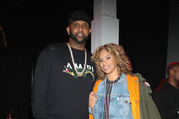 Amber Sabathia Def Jam's Pre-GRAMMY Celebration Sponsored By Patron Tequila and Parajumpers with Puma, Saucey & Heineken