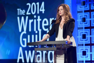Amber Tamblyn 2014 Writers Guild Awards L.A. Ceremony - Inside