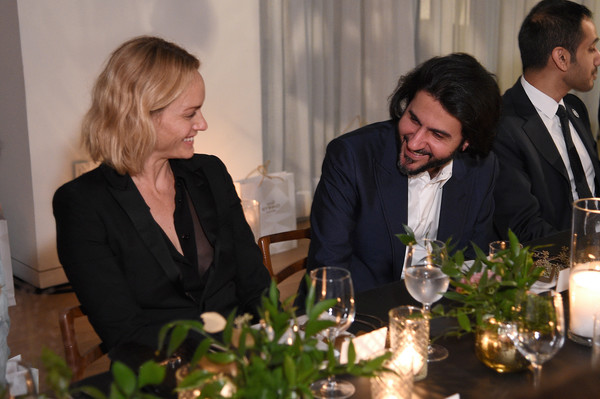 Etihad Airways Hosts A Private Dinner At NYFW: The Shows [shows,event,suit,formal wear,plant,champagne stemware,tableware,ceremony,mohammed al balooki,amber valetta,nyfw,new york city,etihad airways hosts,spring studios,dinner,the shows]
