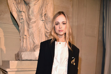 Amelia Windsor Sonia Rykiel: Front Row  - Paris Fashion Week Womenswear Fall/Winter 2017/2018