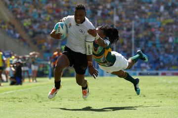 Amenoni Nasilasila Rugby Sevens - Commonwealth Games Day 11