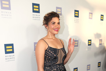 America Ferrera The Human Rights Campaign 2017 Los Angeles Gala Dinner - Red Carpet