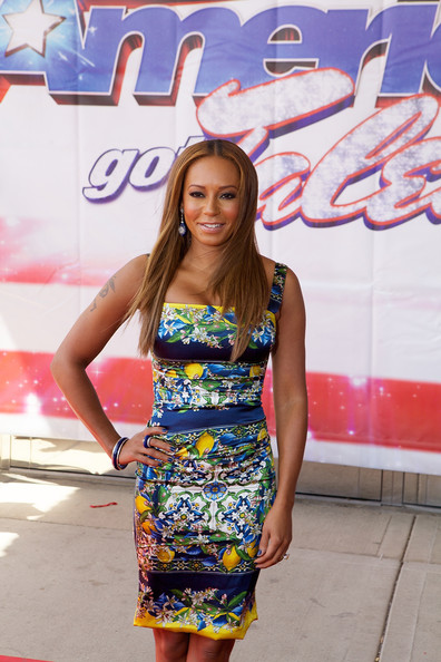 Melanie Brown attends 'America's Got Talent' season 8 meet the judges