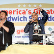 Adam Richman and Joe Ariel Photos