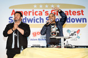 Adam Richman and Joe Ariel Photos Photo