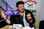 Adam Richman attends America's Greatest Sandwich Showdown during New York City Wine & Food Festival at Highline Stages on October 13, 2019 in New York City.