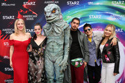 (L-R) Karly Sorrentino, Roxane Mesquida, Alien, Avan Jogia, Gregg Araki and Kelli Berglund attend American Gods & Now Apocalypse Live Viewing Party At #TwitterHouse at Lustre Pearl on March 10, 2019 in Austin, Texas.