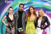 Roxane Mesquida, Avan Jogia, Luna Dietrich and Kelli Berglund attend American Gods & Now Apocalypse Live Viewing Party At #TwitterHouse at Lustre Pearl on March 10, 2019 in Austin, Texas.