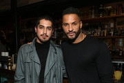 Avan Jogia and Ricky Whittle attends American Gods & Now Apocalypse Live Viewing Party At #TwitterHouse at Lustre Pearl on March 10, 2019 in Austin, Texas.