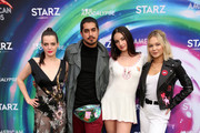 Roxane Mesquida, Avan Jogia, Zoe Kestan and Kelli Berglund attend American Gods & Now Apocalypse Live Viewing Party At #TwitterHouse at Lustre Pearl on March 10, 2019 in Austin, Texas.