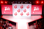 Ashleigh Murray walks the runway for The American Heart Association's Go Red For Women Red Dress Collection 2019 Presented By Macy's at Hammerstein Ballroom on February 7, 2019 in New York City.