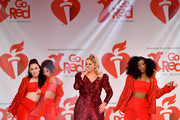 Meghan Trainor performs onstage at The American Heart Association's Go Red For Women Red Dress Collection 2020 at Hammerstein Ballroom on February 05, 2020 in New York City.