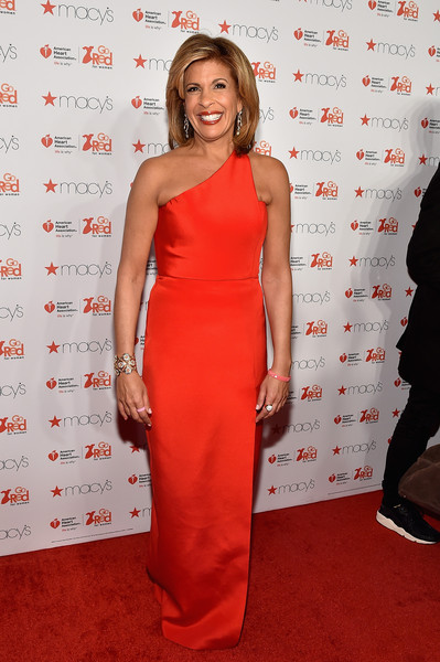 News anchor Hoda Kotb attends the Go Red For Women Red Dress Collection 2015 presented by Macy's fashion show during Mercedes-Benz Fashion Week Fall 2015 at Lincoln Center on February 12, 2015 in New York City.