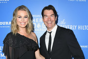 Rebecca Romijn and Jerry O'Connell attend American Humane's 2018 American Humane Hero Dog Awards at The Beverly Hilton Hotel on September 29, 2018 in Beverly Hills, California.