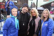 Lois Pope, Ice-T, Coco Austin and Dr. Robin Ganzert attend America Salutes Four-Legged Military Heroes During 2014 Veterans Day Parade on November 11, 2014 in New York City.