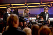 "Judges Harry Connick Jr., Jennifer Lopez, and Keith Urban onstage during ""American Idol"" XIV Grand Finale at Dolby Theatre on May 13, 2015 in Hollywood, California."