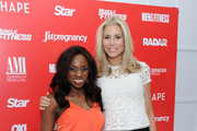 Delaina Dixon and Aviva Drescher attend American Media And Genesis Media Present Cinco de Mayo Party on May 5, 2014 in New York City.