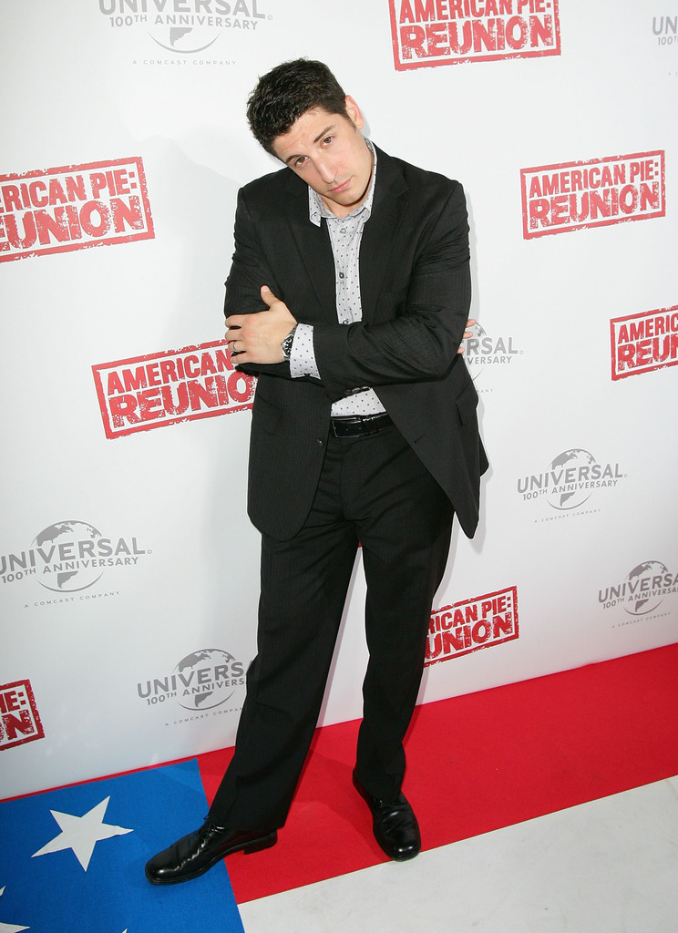 jason biggs in american pie reunion australian premiere zimbio. Black Bedroom Furniture Sets. Home Design Ideas