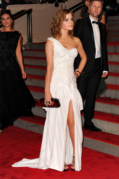 Emma Watson Actress Emma Watson attends the Costume Institute Gala Benefit to celebrate the opening of the