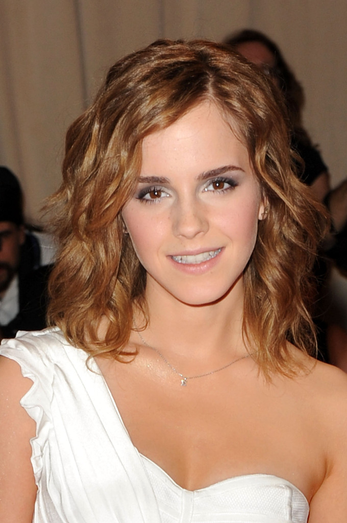 "Actress Emma Watson attends the Costume Institute Gala Benefit to celebrate the opening of the ""American Woman: Fashioning a National Identity"" exhibition at The Metropolitan Museum of Art on May 3, 2010 in New York City."