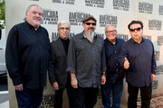 David Hidalgo, Louie Perez, Steve Berlin, Conrad Lozano, ,and Cesar Rosas of Los Lobos attend the 14th annual Americana Music Association Honors and Awards Show at the Ryman Auditorium on September 16, 2015 in Nashville, Tennessee.