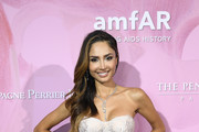 Mexican Actress Patricia Contreras attends the Amfar Gala At The Peninsula Hotel In Paris on June 30, 2019 in Paris, France.