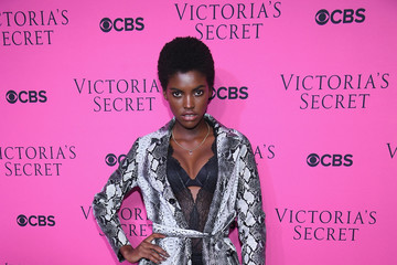 Amilna Estevao Victoria's Secret Angels Gather to Watch the 2017 Victoria's Secret Fashion Show