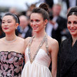 Amira Casar 'Sibyl'Red Carpet - The 72nd Annual Cannes Film Festival